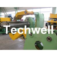 Quality Fully Automatic Combined Steel Metal Slitting Cutting Machine With Control System for sale