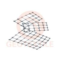 Quality Black Tear Proof PP Biaxial Geogrid Roll Slope Protection Size 3.95m * 100m Size for sale