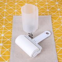 China White Sticky Lint Roller, Paper Used, Efficient Dust / Hair / Fuzz Remover on sale