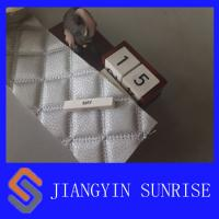 Best Waterproof Bag Synthetic Leather Fabric With Woven Twill Brushed Cloth wholesale