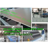 Best PVC Semi-Skinning Foam Board Extrusion Line wholesale