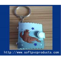 Best Mini Photo Album Rubber Custom Key Chains / Soft PVC Key Holder for Christmas Gifts wholesale