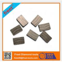 China Freet Hot sale different shape of diamond segment for cutting granite/marble/sandstone on sale