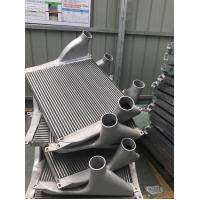 Quality Aluminum Tube Fin Charge Air Cooler for Aftermarke Truck Turbo Engine air to air heat exchanger for sale
