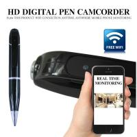 Quality 720P HD WIFI P2P Pen Spy Hidden Camera Covert Video Streaming Recorder Home Security Nanny Camera Remote Baby Monitor for sale