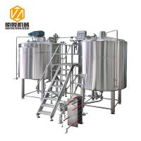Quality Micro Craft Small Microbrewery Equipment 5HL Stainless Steel Energy Saving Type for sale