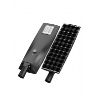 Quality 50 Watt LED Street Lighting All In One Luxeon 5050 Aluminum Lamp Body Material for sale