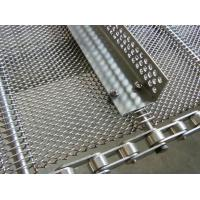 Quality Chain Link Woven Belts,Conventional Weave Belts,Heat Treatment Wire Mesh Belt for sale