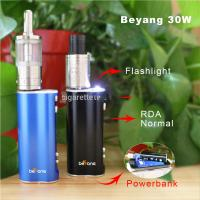 Quality new Beyang 30w box mod under $30 box mod with flash light for sale