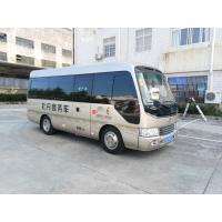 Buy cheap Length 6M Isuzu Aluminum Coaster Minibus Diesel Engine Extral Rear Open Door from wholesalers