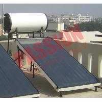 High Powered Flat Plate Solar Water Heater 150 Liter Long Service Life