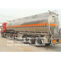 Shengrun 3 Axle Fuel Tank Semi Trailer Oil tank semi trailer