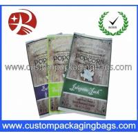 Quality CPP / OPP Plastic Food Packaging Bags For Popcorn Retail Packaging for sale