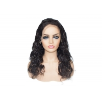 China Factory supply #1B natural black body wave human hair wigs on sale