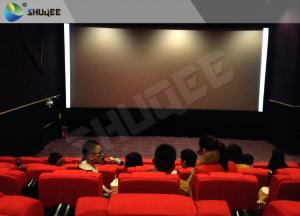 Quality High Class Sound Vibration Cinema With 2K Projector Silver Screen for sale