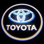 Toyota car accessories led Door Projector Lights car emblem toyota badge door