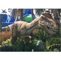 Quality Animatronic Dilophosaurus Realistic Dinosaur Statues For Jurassic Theme Park for sale