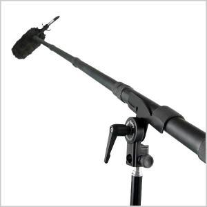 Quality 12ft retractable carbon fiber boompole collapsable carbon fibre Poles for sale
