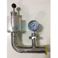 Quality Air Pressure Relief Valve with Manometer for Fermentation Tank Pressure Relief Valve for sale