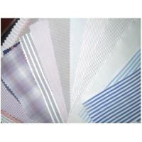 Quality Wholesale cotton shirt stripe yarn dyed fabric for business shirt for sale