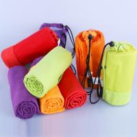 Quality Microfiber Sport Towel With Bag Swimming Travel Gym Microfiber Towel for sale
