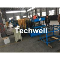 Quality Hydraulic Pre - Punching Ladder Cable Tray Making Machine 0-15m/min for sale