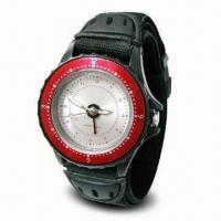 Quality Quartz Watch with Vibrating Alarm Function and Automatic Stop Alarm for sale