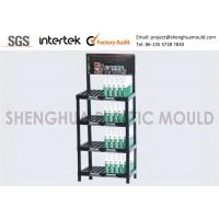 Quality HIPS Plastic Shelf Display with Ready Mold for Retail Stores for sale