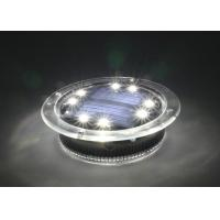 Quality Swimming Pool Solar Decorative Lights 500 Lux With 1.2V 300MAH Ni-MH Battery for sale