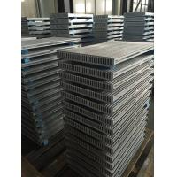 Quality Custom Aluminum Tube Fin Water cooled heat exchanger Radiator Core for sale