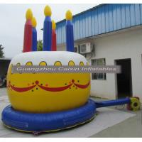 China big inflatable birthday cake for holiday party event selling on sale