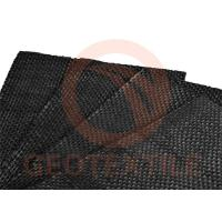 Quality 70 - 100kn / M Reinforcing Ground Stabilization Fabric Heat Resistant Slit Tape for sale