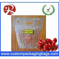 Quality Portable Perforation Fruit Packaging Bags Copper Plate Printing for sale