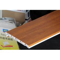 Quality Waterproof laminated window board / plastic window sills covers 100mm*350mm for sale