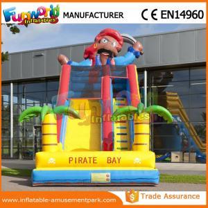 China Inflatable Dry Slide Mini Slip 0.55MM PVC Tarpaulin Inflatable Slide For Kids on sale