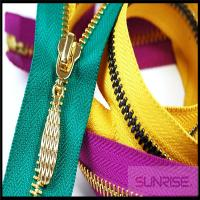 Quality High quality white seperating ykk wholesale open end metal zippers for shoes for sale