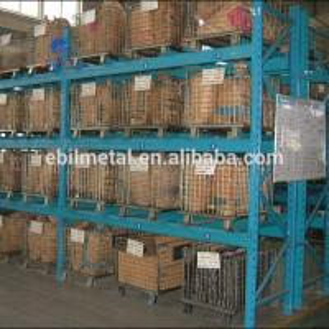 Quality Foldable Metal Wire Mesh Decks Pallet Rack  Warehouse Storage  500 - 1000mm Depth for sale