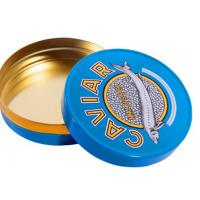 Quality 30 gm caviar tin box,50 gm caviar tin box,100 gm caviar tin box,125gm caviar tin box,150gm caviar tin box for sale
