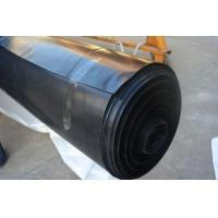 Quality Black / White Color Geomembrane Pond Lining Sheets , Polypropylene Pond Liner for sale