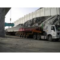 Quality 180 - 250 Ton Girder Transporter Trailer 8.25 - 20 Tyre Size Hydraulic Steering for sale