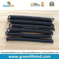 Quality Top Quality PU Material Spring Stretchy Coil Strap Rope Black Colour for sale