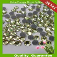 China low lead rhinestones low lead strass jonquil color on sale