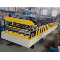 Quality Professional PPGI / Color Steel Roofing Sheet Roll Forming Machinery 0-15m/min for sale
