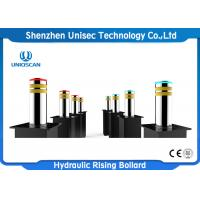 Quality Stainless Steel Automatic Parking Bollards ,  Rising Security Bollards for sale