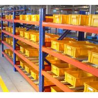 Quality Logistic Warehouse Steel Metal Carton Flow Rack For Storage  500 - 3000 Kgs Per Lever for sale