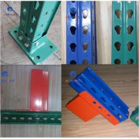 Quality Corrosion Resistance Teardrop Pallet Rack Storage Racking System Q235B Raw Steel for sale
