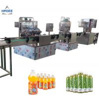 Quality 2000BPH Capacity Juice Filling Machine For 60-320 Mm Height Glass Bottle for sale