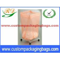 Quality Biodegradable Disposable Water Soluble Foldable Laundry Bag for medical centre for sale