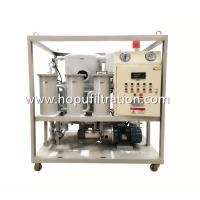 Quality Frame Double Stage Vacuum Transformer Oil filtration plant, Dielectric Mineral Insulation Oil Dehydration factory for sale