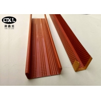 Quality Galvanized Steel Metal Stud U Channel High Durability Good Rust Resistance for sale